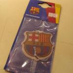 FCバルセロナ エアフレッシュナー!デオドラント効果も抜群です!